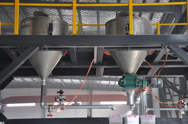 Details von Mixer-Barrel