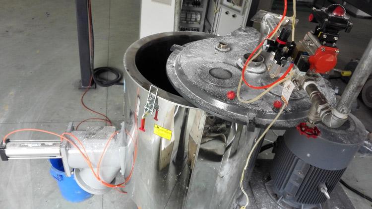 Details des Mixers